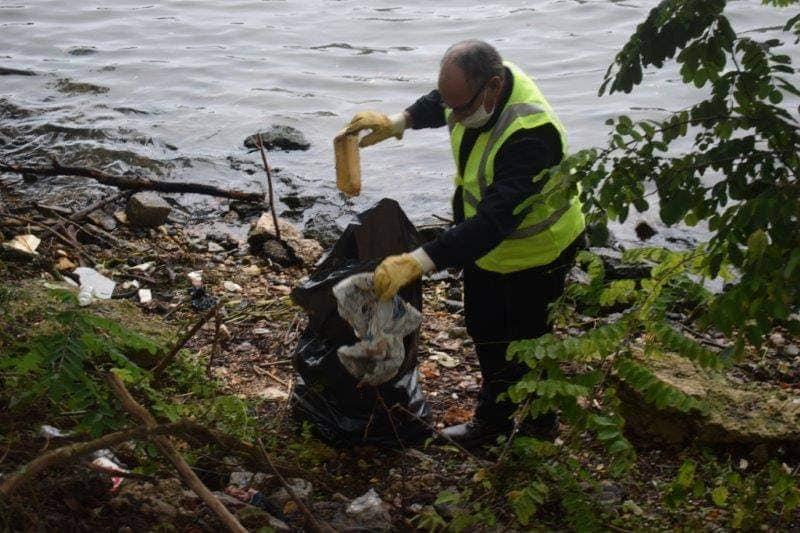 Opération nettoyage à Vitry sur seine (94) Dimanche 13/12/2020